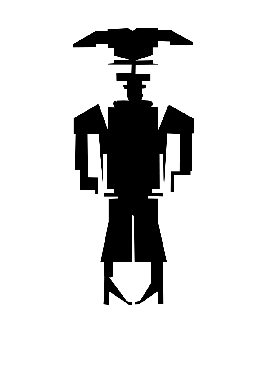 HIGH NOON BoxBot Silhouette