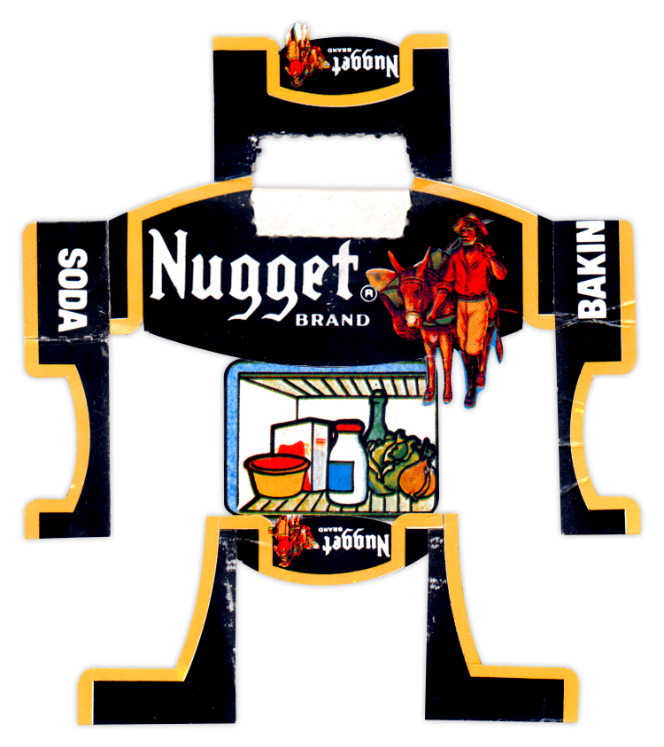 Nugget Baking Soda BoxBot