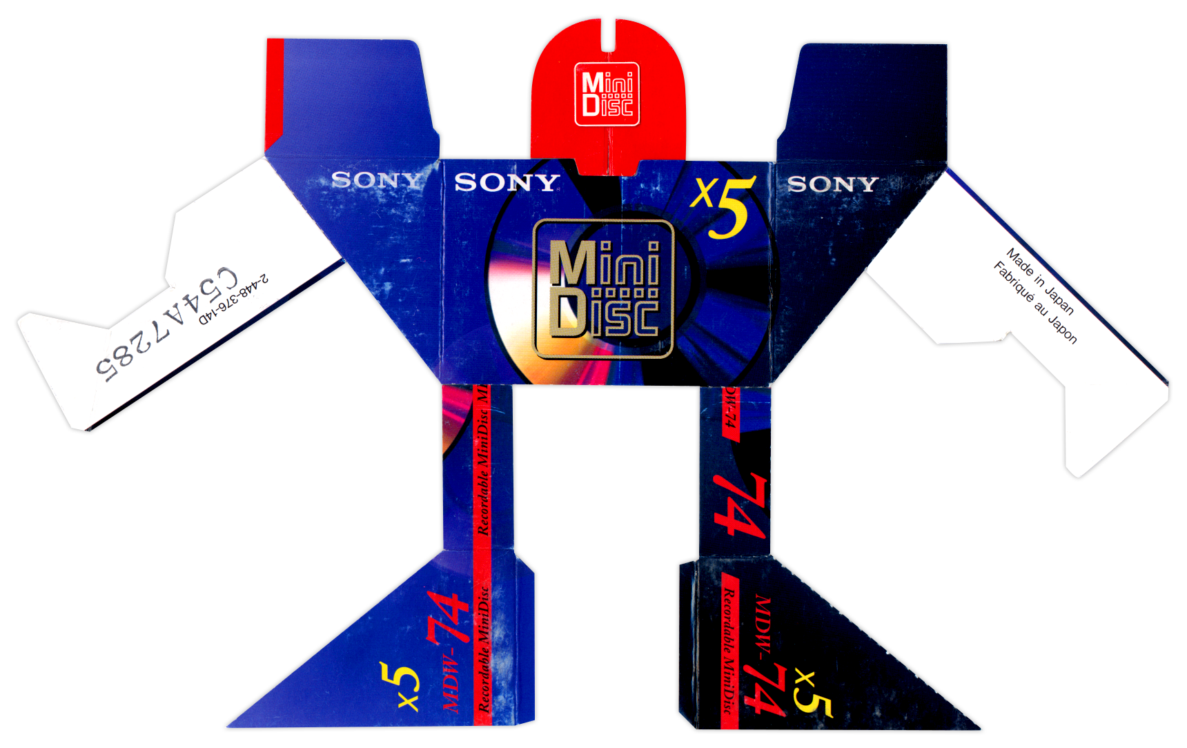 Sony Mini Disc BoxBot