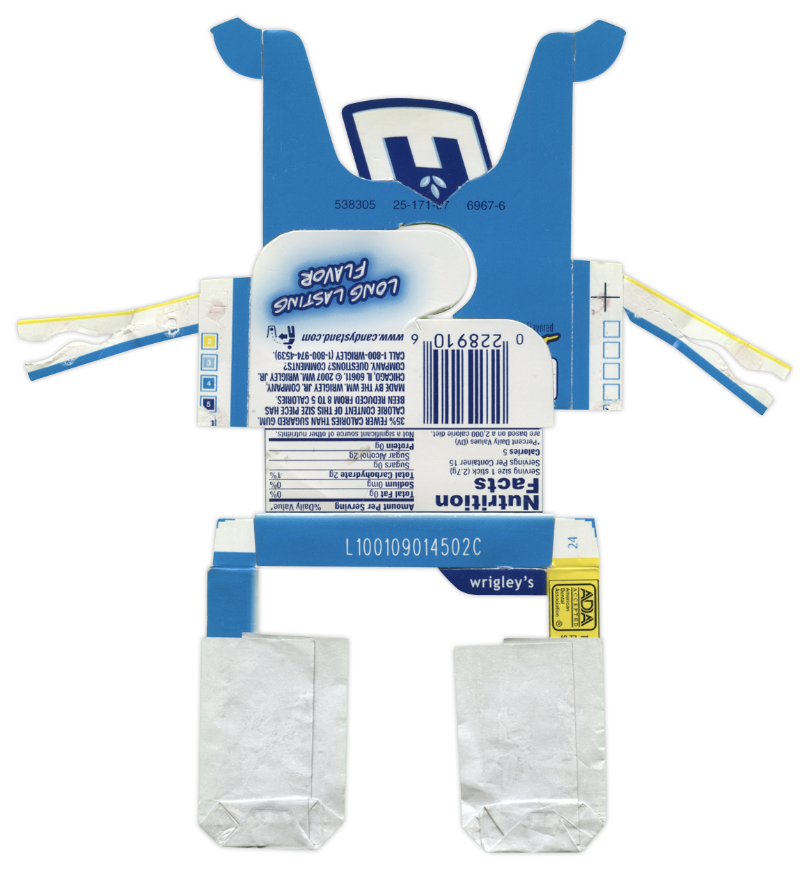 Extra Peppermint Gum BoxBot