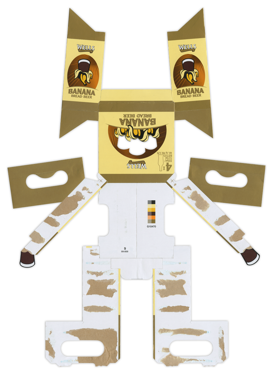 Banana Bread Beer BoxBot