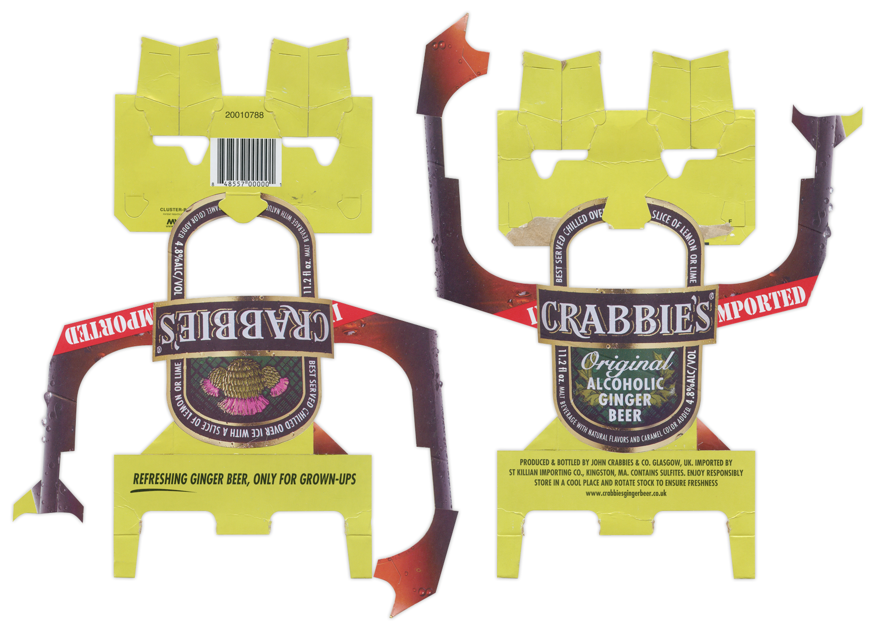 Crabbies Ginger Beer BoxBot