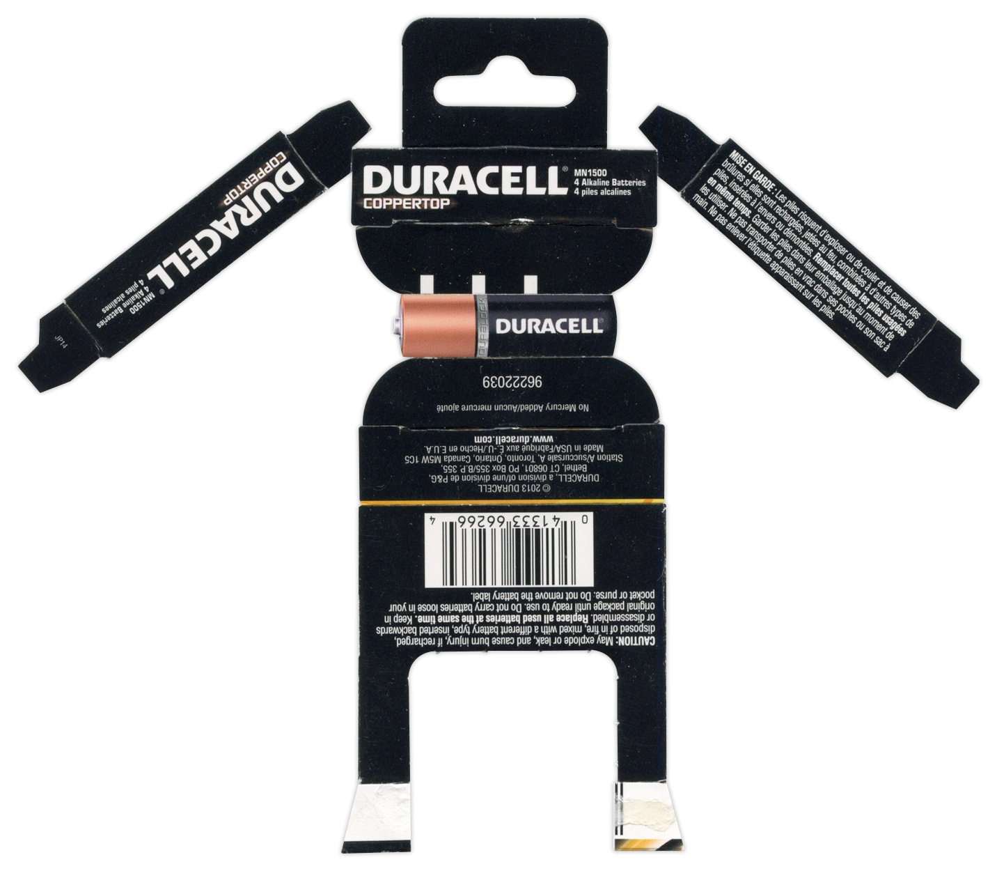 Duracell AA Batteries BoxBot