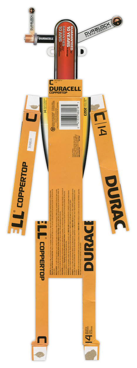 Duracell C Batteries BoxBot