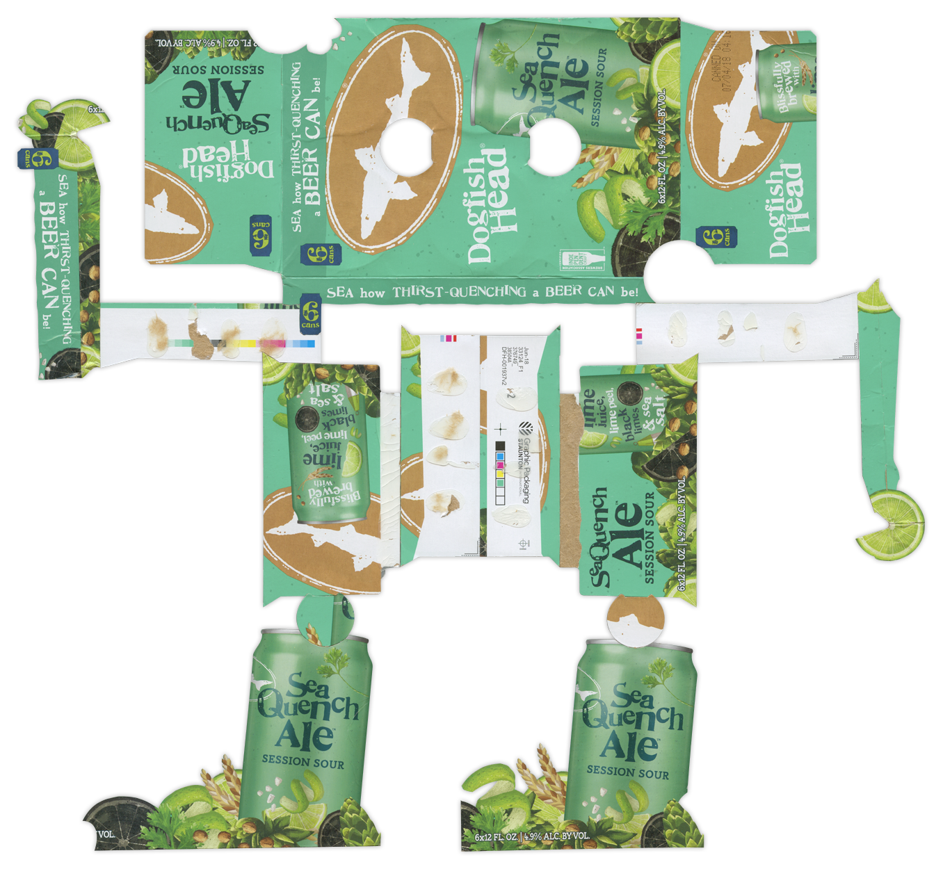 Dogfish Sea Quench Ale BoxBot