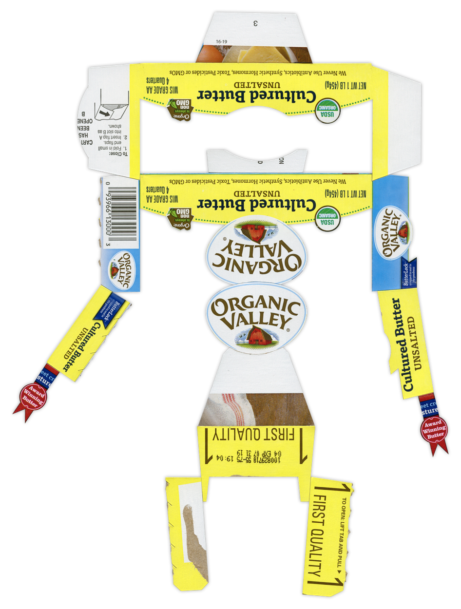 Organic Valley Butter BoxBot