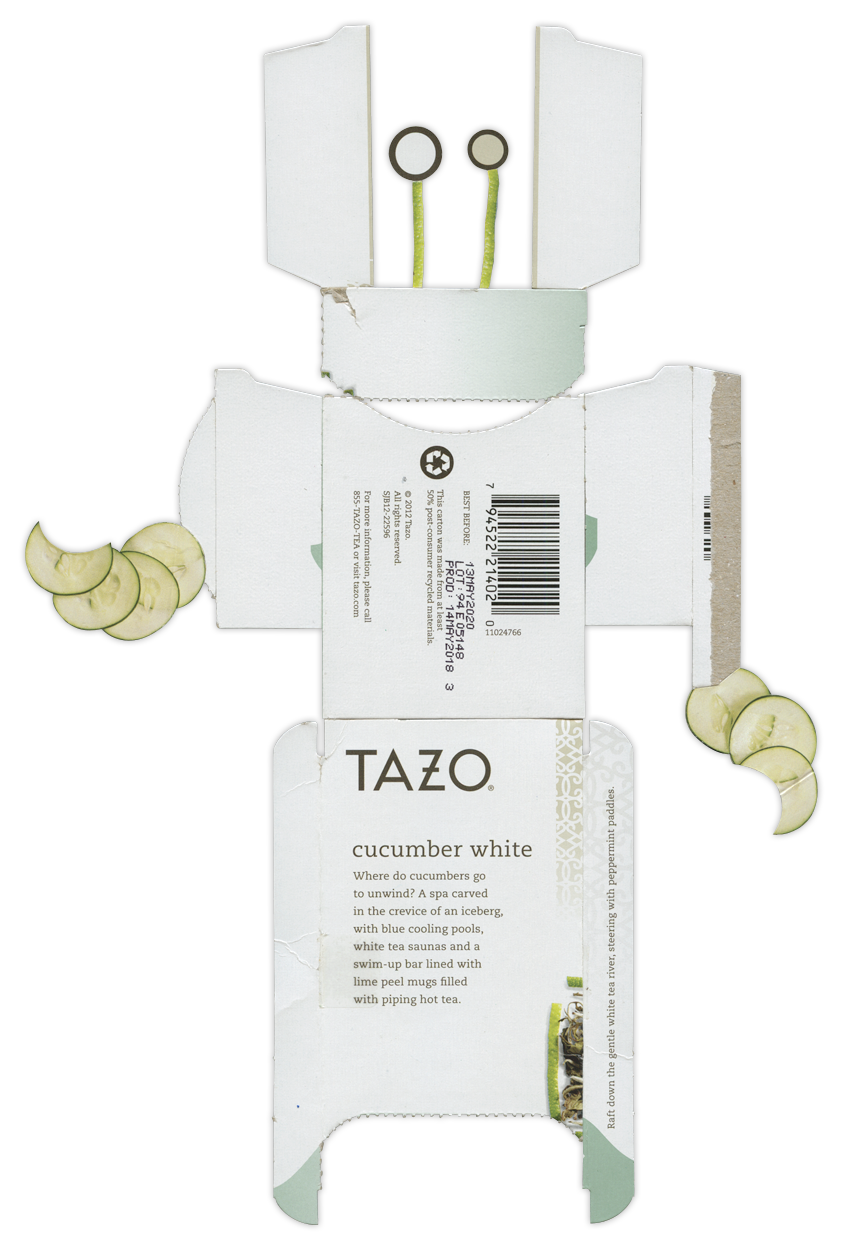 Tazo Cucumber White Tea BoxBot