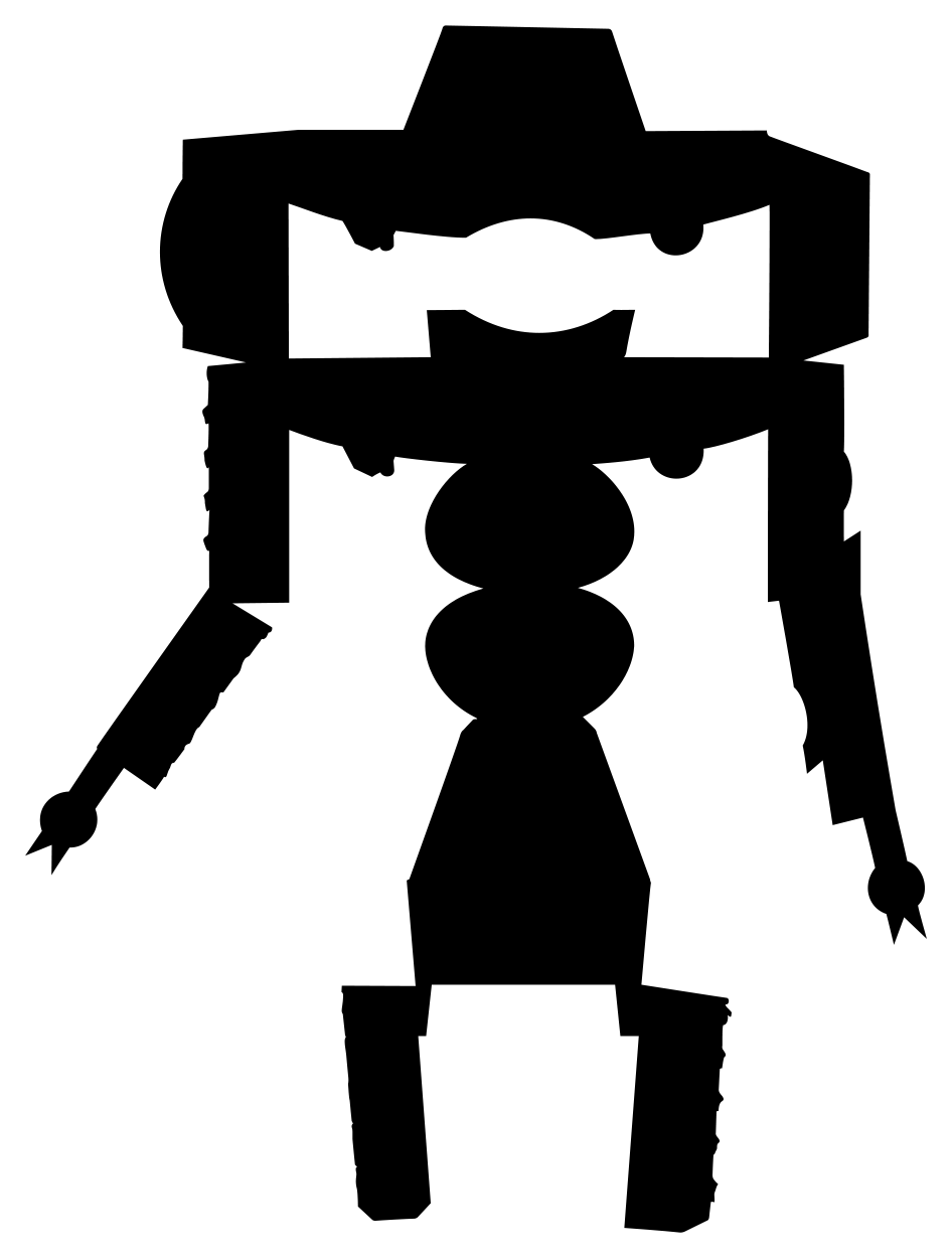 Organic Valley Butter BoxBot Silhouette