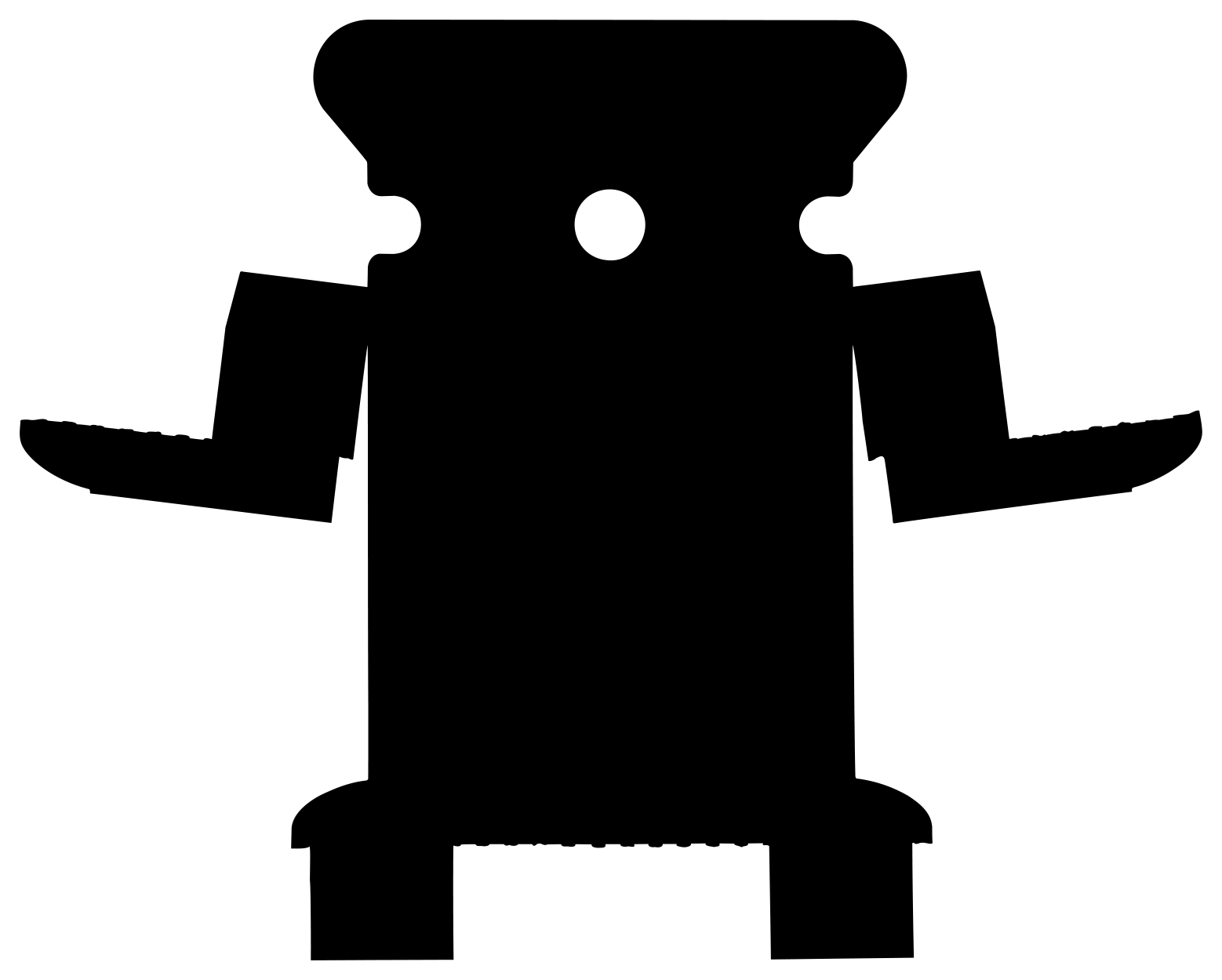 Seventh Generation Dish Soap BoxBot Silhouette